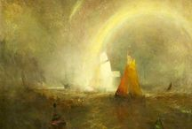 J M W Turner / When Turner died, he left nearly 16000 pieces of his work to the British nation ! An incredibly prolific artist. These are just a taster.