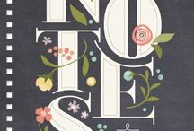 Type with Floral Notes