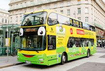 HOP ON HOP OFF Bus tours in Vienna / Get a quick overview of Vienna's most popular sights with our HOP ON HOP OFF bus tour. With just one ticket you can get on and off at as many stops as you like.