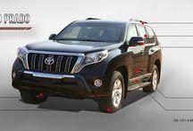 New armoured Toyota Prado 2016
