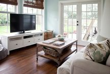 living room possibilities / by Robin Hill