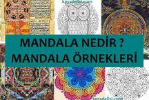 Mandala Örnekleri / Mandala Örnekleri #mandala