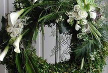 funeral wreath inspiration