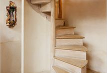 stairs in small space