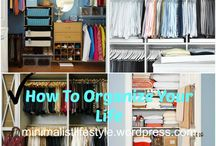 Home Organization Hacks / Organization tips to help simplify your home life whether it's tips in the kitchen or your closet.