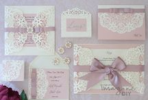 Blush Wedding Ideas / Blush colour wedding ideas and DIY products for your wedding day.