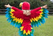 Bird costume
