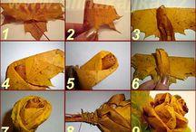 kytičky z listí