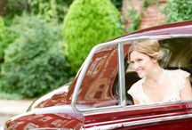 My Dream Wedding / Romantic outdoor garden wedding.  Merlot, blush, sage, cream and gold. Best guy makes me walk down the aisle.