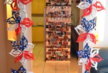 My America-Themed 21st Birthday Party / In March, I had my 21st birthday party. It had an America theme, as I am going to the United States to celebrate. Here are some of the decorations.