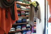 Cortona Shop / Pictures of our small cashmere shop located in the beautiful city of Cortona, Tuscany
