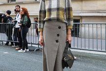 midi skirt styling