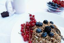Do you have carbs day ? / Bezchybný mix bezlepkových vločiek, chia semiačok, mandlí a jablčnej vlákniny.
