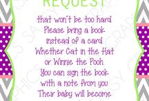 Baby Shower Ideas / by Lizzie Lobos