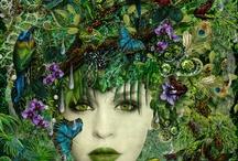 green / by Darla Coburn Gregg