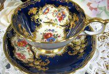 beauty through the porcelain.