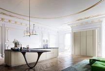 living space / kuchyne, obyvacky, jedálne