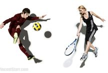 Studio Sport Photography / Studio Sport Photography, action and portrait. Beautiful clean lighting.