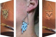 Earrings from ByRi / Lovely, elegant and modern.. Earrings from ByRi
