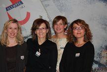 Team GGD / Il team che organizza le GGD Ticino è formato da: Laura De Biaggi (Founder) Gabriella Fumagalli (Co-founder) Cristina Giotto (Co-founder) Sara Peloso (Co-founder)  Maggiori info sul team: http://ticino.girlgeekdinners.com/sample-page/
