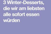 Dessert für den Winter