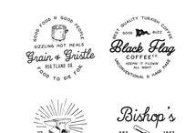 cartoon & typography