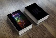 Businesscards - Névjegykártyák / HWD névjegykártyák