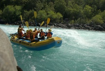 Bio Bio Expeditions on the Futaleufu River in Chile / Futaleufu Rafting Multi Sport Adventure: Multi-sport trip in the heart of Patagonia!  Activities include: whitewater rafting the Class IV-V Futaleufu River, hiking, horseback riding, fly-fishing, daily yoga classes, and mountain biking! Stay at our deluxe riverside adventure camp with hot tub, sunset bar, massage, wine tasting, and more!