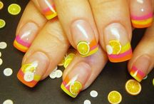 summer nails / by Wendy Mirabella