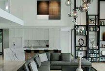 loft - wysokie salony - projekty i inspiracje