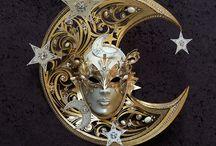 Home decoration ideas / Home decor ideas from La Fucina dei Miracoli, original made in Italy Venetian masks since 1975 www.maschere.it