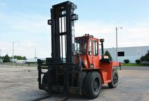 Pneumatic Tire Forklifts For Sale / Pre-owned pneumatic tire forklifts for sale by A D Lift Truck