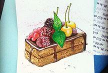 Food sketch