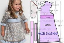 #Pecah Pola Baju anak
