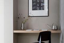 Study/bookshelf moofboard