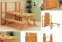 Modelo de mesa para varanda