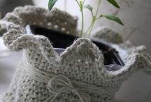cestos de trapillo y cuerda