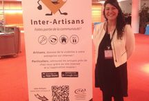 Biennale Européenne de l'Artisanat / L'équipe d'Inter-Artisans était partenaire de la première édition de la Biennale Européenne de l'Artisanat à la Cité internationale de Lyon !