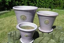 The Orchard: Kew Pots: Shabby Chic Vintage
