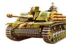 Tanks, SPGs etc.