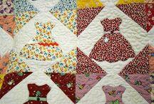 Sewing: Quilt Blocks: Dress Blocks