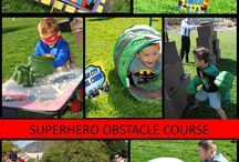 Kids superhero birthday party