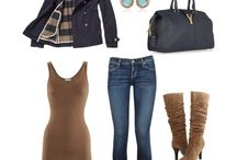 outfits for fall / by Ann Wenger