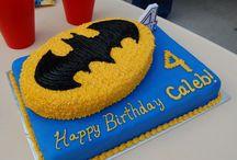 4th Birthday - Batman Cake