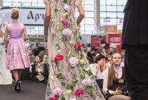 pokazy mody w kwiatach