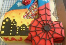 Spiderman torty