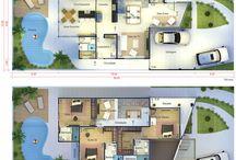 Floor plans - Plantas