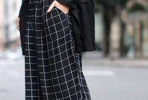 Grid Pattern // How to wear