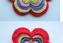flores a crochét