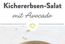 Avocado kichererbsen salat
